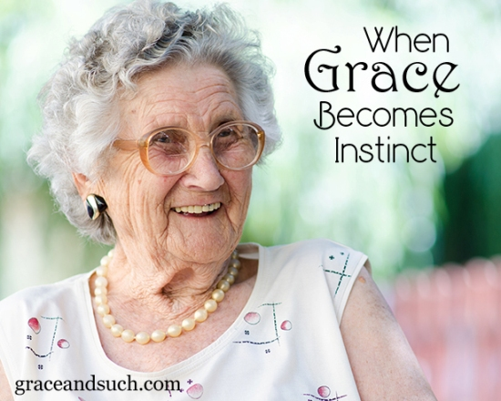 When Grace Becomes Instinct