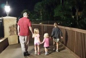 ManO and the grandkidlets