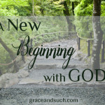 A New Beginning with God April Jean