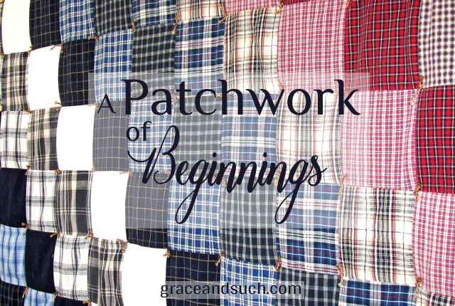 A Patchwork of Beginnings