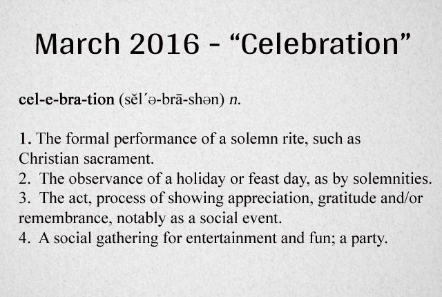 Celebration Definition