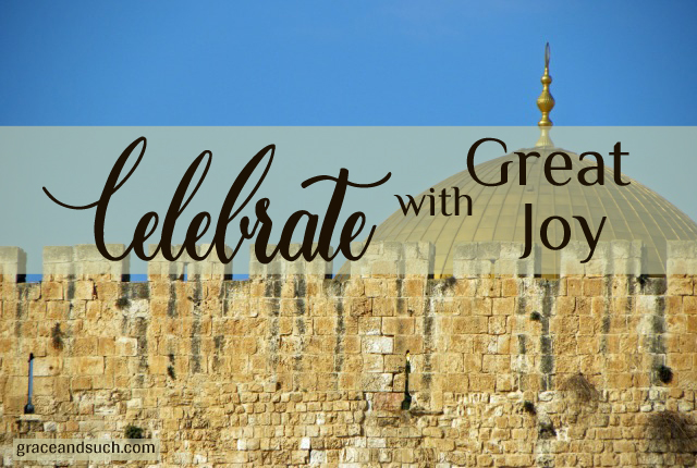 Celebrate with Great Joy