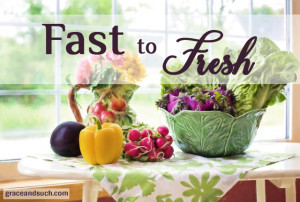 Fast to Fresh April Jean