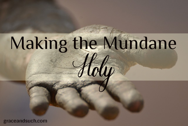 Terri - Making the Mundane Holy