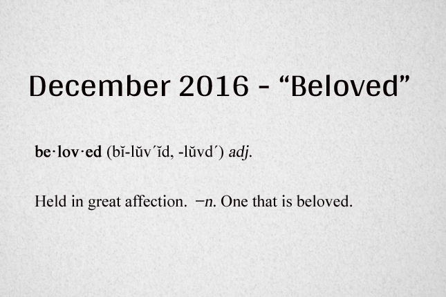 beloved-definition