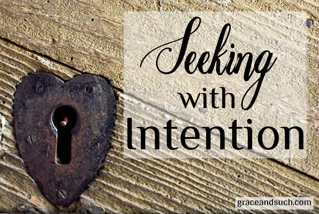 Seeking with Intention